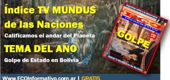 ECO INFORMATIVO nº 90 | EL TEMA DEL AÑO – Golpe de Estado en Bolivia
