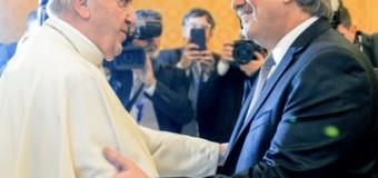 MUNDO – Argentina | Cordial encuentro entre el Presidente Fernández y el líder de los católicos romanos.