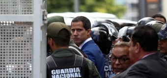 REGIÓN – Venezuela | El terrorista Juan Gauidó fue reemplazado por los propios derechistas.