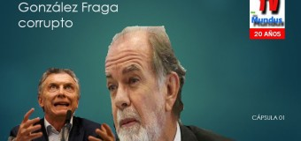 TV MUNDUS – CÁPSULA de Realidad 01 | Javier González Fraga corrupto.