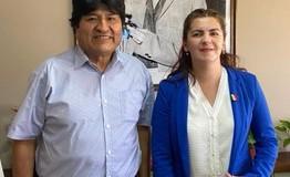 REGIÓN – Bolivia | La dictadura boliviana proscribió la candidatura a Senador de Evo Morales.