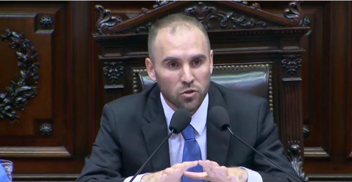 Martín Guzmán, Ministro de Economía argentino.