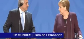 TV MUNDUS – Noticias 309 | Gira de Fernández y de CFK.