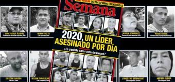 REGIÓN – Colombia | En los últimos tres años asesinaron a más de 600 dirigentes sociales en Colombia.