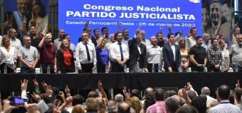 POLÍTICA – Justicialismo | El peronismo dio su pleno apoyo al Presidente Fernández.