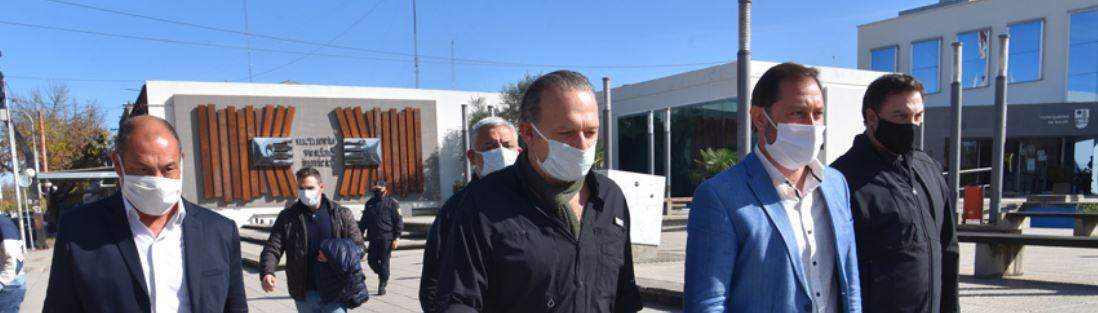"Sergio Berni conduce a los ""patas negras""."