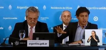TV EN DIRECTO | El Presidente Fernández anuncia la prolongación regulada de la cuarentena