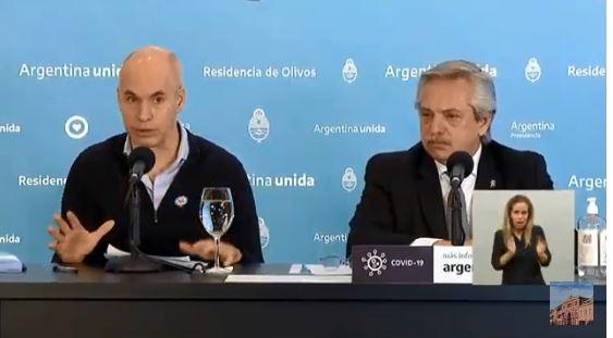 Horacio Rodríguez Larreta explicó el caso de la CABA.