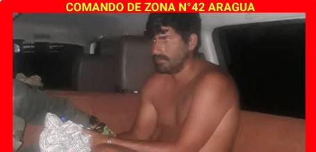 Terrorista norteamericano que invadió Venezuela tras su captura.