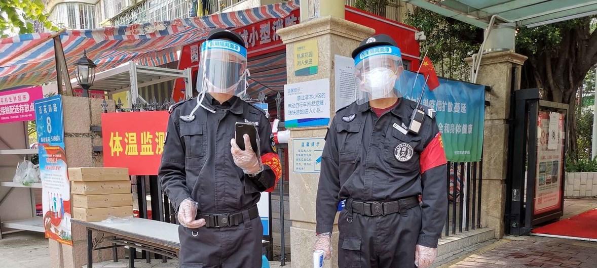 China redobla controles. FOTO: ONU.