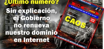 CENSURA – Argentina | Nuestra revista ECO INFORMATIVO a punto de desaparecer por inexplicable censura.