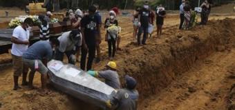 REGIÓN – Coronavirus | El Brasil nazi ya suma 38.000 muertos por culpa de Bolsonaro. Uno por minuto.