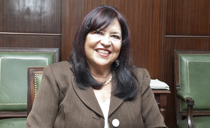 Jueza Ana María Figueroa.