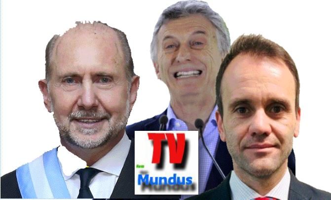 Perotti, Macri y Lorenzini.
