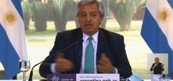TV en VIVO  |  El Presidente Fernández anuncia las medidas ante la expansión de la pandemia de COVID en Argentina.