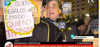 ULTRADERECHA – Medios | Al tiempo que no dijeron nada de la agresión a C5N, el canal de La Nación + censuró a una manifestante en contra del glifosato.