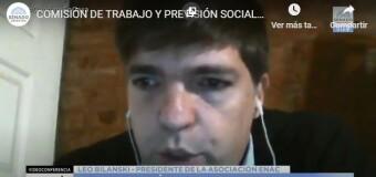 TV en VIVO – SENADO |  Debate en Comisión de la Ley de Teletrabajo.