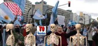 CORONAVIRUS – Argentina | Desde el sábado 18 levantan la cuarentena en el AMBA y empieza el show de las muertes.