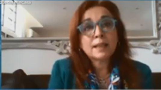 Fiscala Gabriela Boquín.