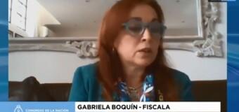 TV en DIFERIDO | MESA JUDICIAL MACRISTA V | La Fiscala Gabriela Boquín demuestra cómo la persigue el macrismo.