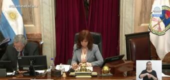 CONGRESO – SANEAMIENTO JUDICIAL | El Senado aprobó con claridad la reforma inicial del corrupto Poder Judicial.