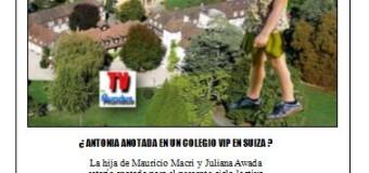 ESPIONAJE ILEGAL MACRISTA  XXX | Al estar imputados sus subalternos, Macri se quedaría en Suiza. Ya anotó a su hija en el colegio.