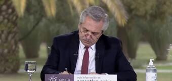 ECONOMÍA – Argentina | El Presidente Fernández anunció obras públicas por un valor de $ 22.000 millones.