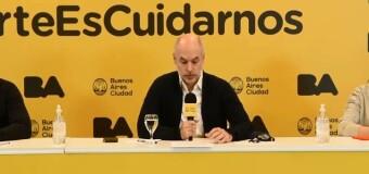 CORONAVIRUS – CABA | Aunque la CABA está explotando en COVID, Rodríguez Larreta no detendrá la actividad económica aunque haya muchos muertos.