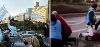 DERECHOS HUMANOS – CABA | La Policía de Rodríguez Larreta reprimió a quienes reclaman por el asesinato de Maldonado durante el macrismo.
