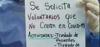 CORONAVIRUS – Argentina | Gracias a la irresponsabilidad social, el personal de salud se está fatigando, enfermando y muriendo por COVID.