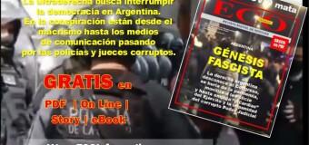 ECO INFORMATIVO | Salió adelantado el nº 95 de Octubre 2020 | Génesis Fascista