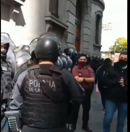 La Policía macrista de la CABA es pagada por el Tesoro Nacional.