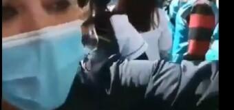 RÉGIMEN – CABA | La Policía del PRO le pegó a enfermeros y enfermeras en la CABA.