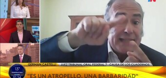 SANEAMIENTO JUDICIAL | El falso camarista Germán Castelli dijo que  desconoce al Senado.