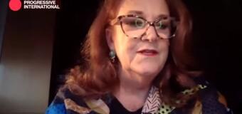 INTERNACIONAL PROGRESISTA 2020  | Alicia Castro dijo que la humanidad está en un momento crucial.