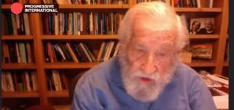 INTERNACIONAL PROGRESISTA 2020 | Noam Chomsky dijo en la Internacional Progresista que la destrucción provocada por el capitalismo está  llegando a un punto culminante.