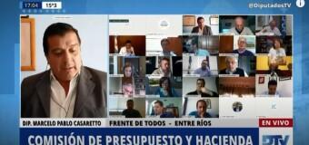 TV en VIVO  | Comisión de Diputados debate el Presupuesto 2021.