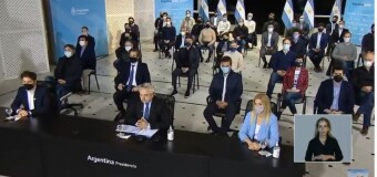 NO AL GOLPE | El Presidente Alberto Fernández le saca el dinero que Macri le regalaba a la CABA y se la pasó a Buenos Aires. Crearán fondo para recomposición salarial a policías bonaerenses.