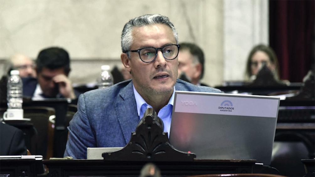 José Nuñez, diputado macrista infectado.