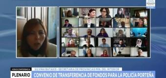 TV en VIVO |  El Senado debate en Comisión las transferencias a la CABA por la Policía Federal.