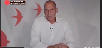 INTERNACIONAL PROGRESISTA 2020 | Yanis Varoufakis dijo que ahora el neoliberalismo es fascista.