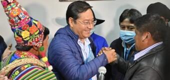 REGIÓN – Bolivia | A paso lento confirman amplio triunfo del MAS en Bolivia.
