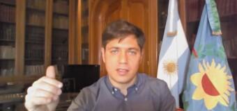 CORONAVIRUS – Buenos Aires | El Gobernador Kicillof lamenta la extensión del COVID hacia el interior de la Provincia.