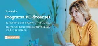 TECNOLOGÍA – Educación | El Gobierno argentino lanzó un plan de computadoras subsidiadas para docentes.