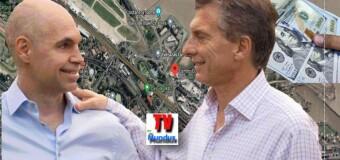 CABA – ECONOMÍA |  Durante el régimen Macri le regaló $ 130.700 millones a la Ciudad de Buenos Aires.