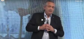 TV Directo |  El Presidente Fernández habla en el acto central del 75º Aniversario del Peronismo