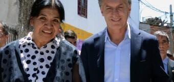 POLÍTICA – Sociedad | Margarita Barrientos dijo que Macri se olvidó de ellos.