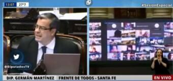 TV – Vivo | La Cámara de Diputados debate el aporte extraordinario a las grandes fortunas.