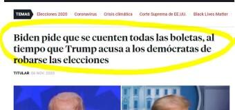 MUNDO – Estados Unidos | Democracy Now y su opinión de las elecciones en Estados Unidos.
