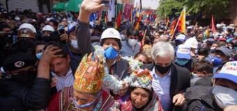 REGIÓN – Bolivia | Evo Morales encabeza la Caravana de la Dignidad.